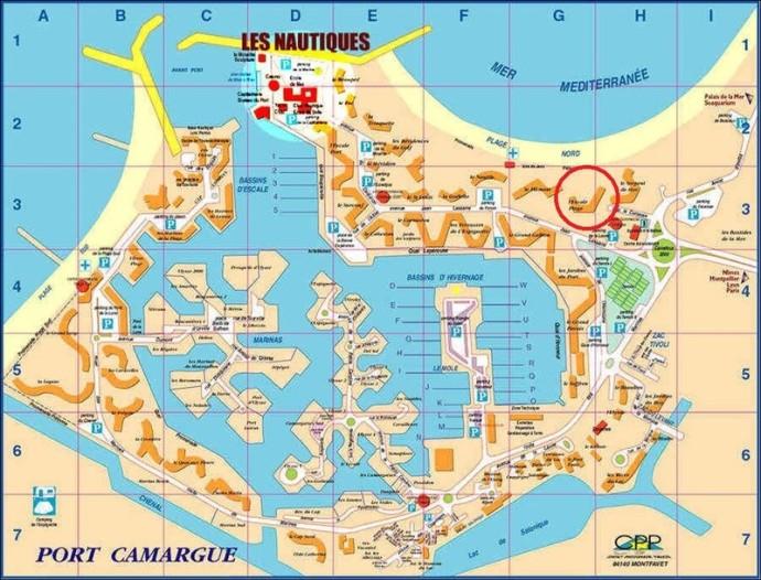 Escale Plage Port Camargue Acc S